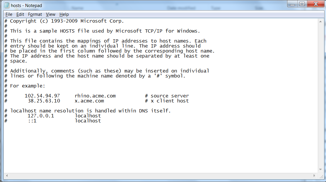 How to Use the Windows Hosts File - Dom's Tech & Computer Blog